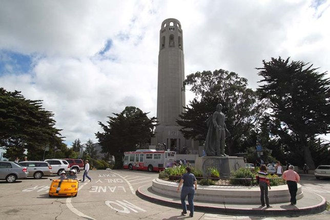 Coit Tower in San Francisco