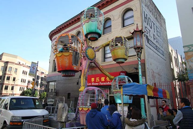Chinese New Year Flower Market Fair
