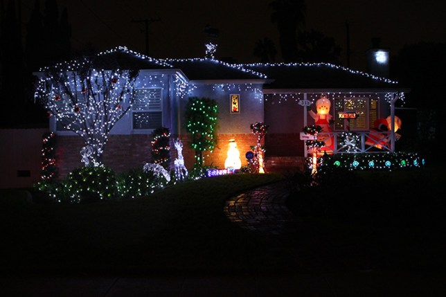 Christmas Lights in Burbank
