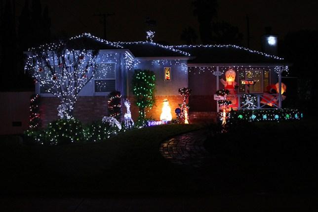 Christmas Lights in Burbank