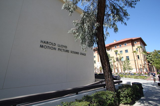USC HAROLD LLOYD MOTION PICTURE SOUND STAGE