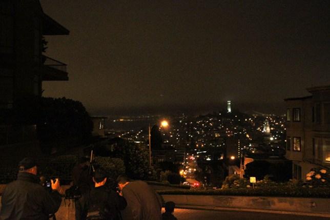 夜のサンフランシスコ San Francisco at night