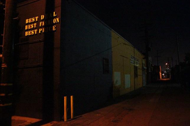夜のロサンゼルス Los Angeles at night