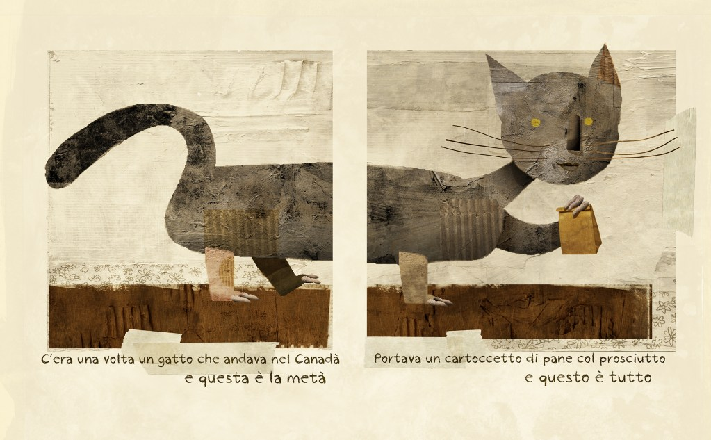 Once upon a time there was a cat