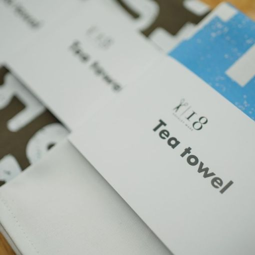 Tea towel sleeves