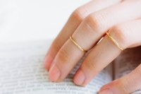 Middle Thick Stacking Ring,stackable Ring,stacked Ring ...