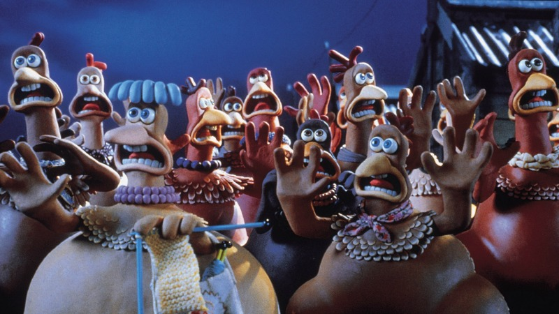 Image result for chicken run