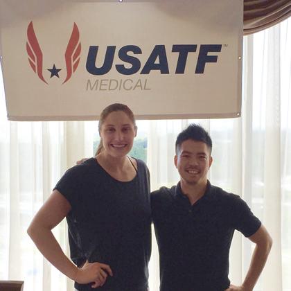 アメリカオリンピック選手からの推薦文及び感謝の声