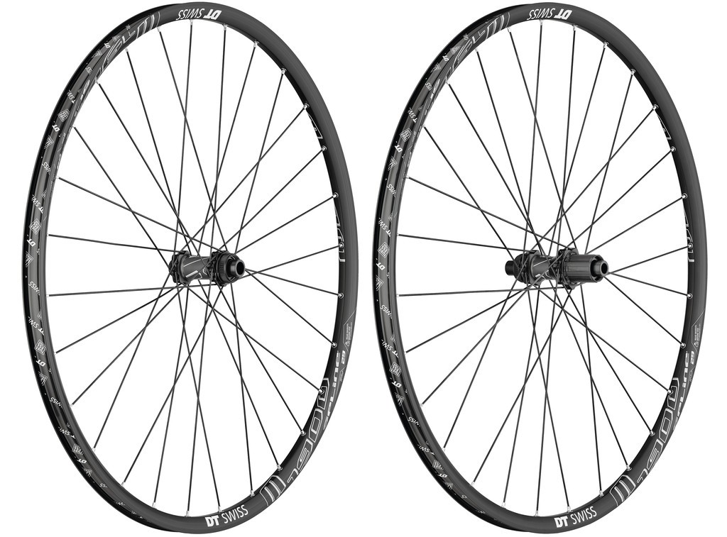 Dt swiss roue ar m 1900 spline 29' alu, noir, center lock