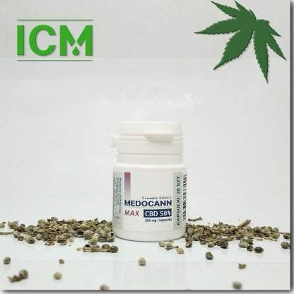 Medocann 50% CBD kaps 20 (k)