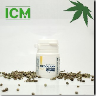 Medocann PLUS 10% CBD kaps 20 (k)