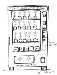 There Is No Vending Machine For Marketing Qualified Leads