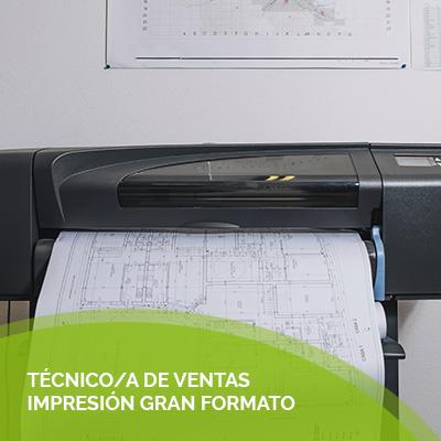 tecnico ventas impresora