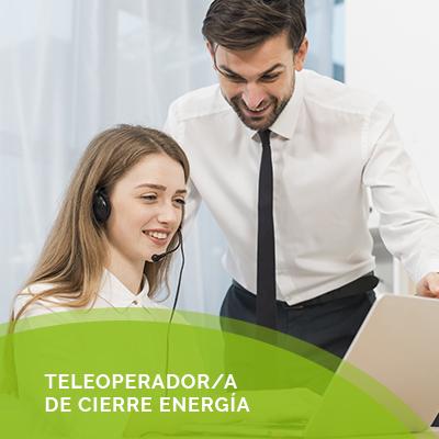 Teleoperador/a de Cierre Energia