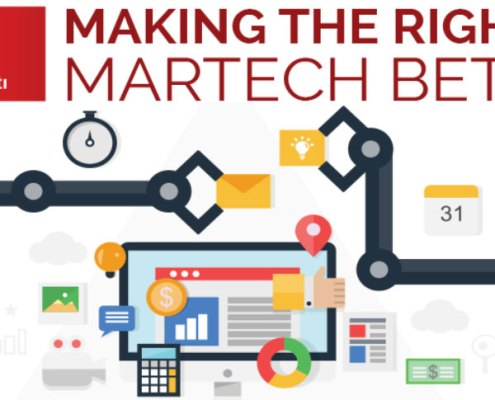 Marketing technology framework - matrix not stack