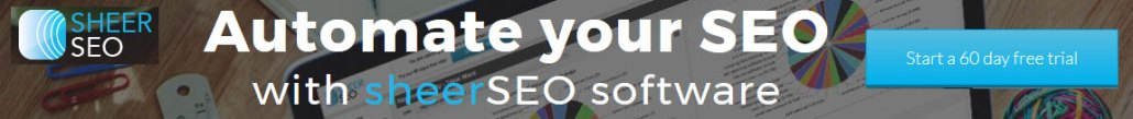 Automate SEO functions with Sheer SEO