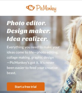 Easy photo editor and graphic design maker tool