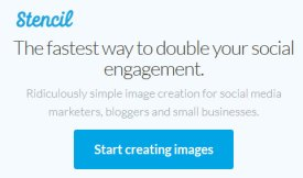Easily create images for social media and blogging