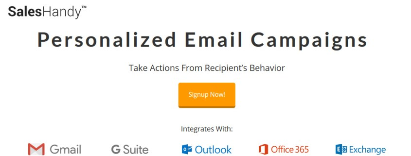 Personalize email campaigns for B2B lead generation - SalesHandy