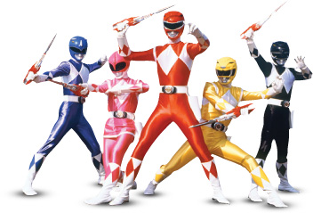 power rangers copy