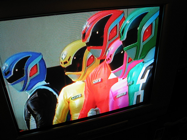 power rangers on tv