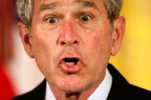 bush face