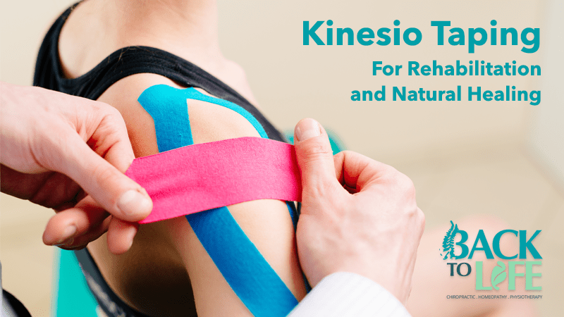 KinesioTaping For Rehabilitation and Natural Healing
