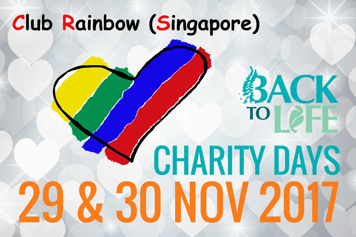 Charity Days 29 & 30 Nov 2017 – Club Rainbow
