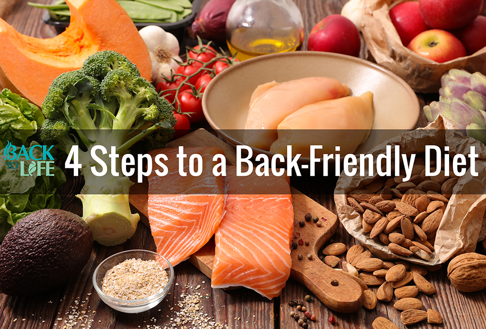 4 Steps to a Back-Friendly Diet