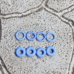 Уплотнительное кольцо форсунки Газель Бизнес дв. 4216 н/о силикон (компл.). Цена 130 грн.