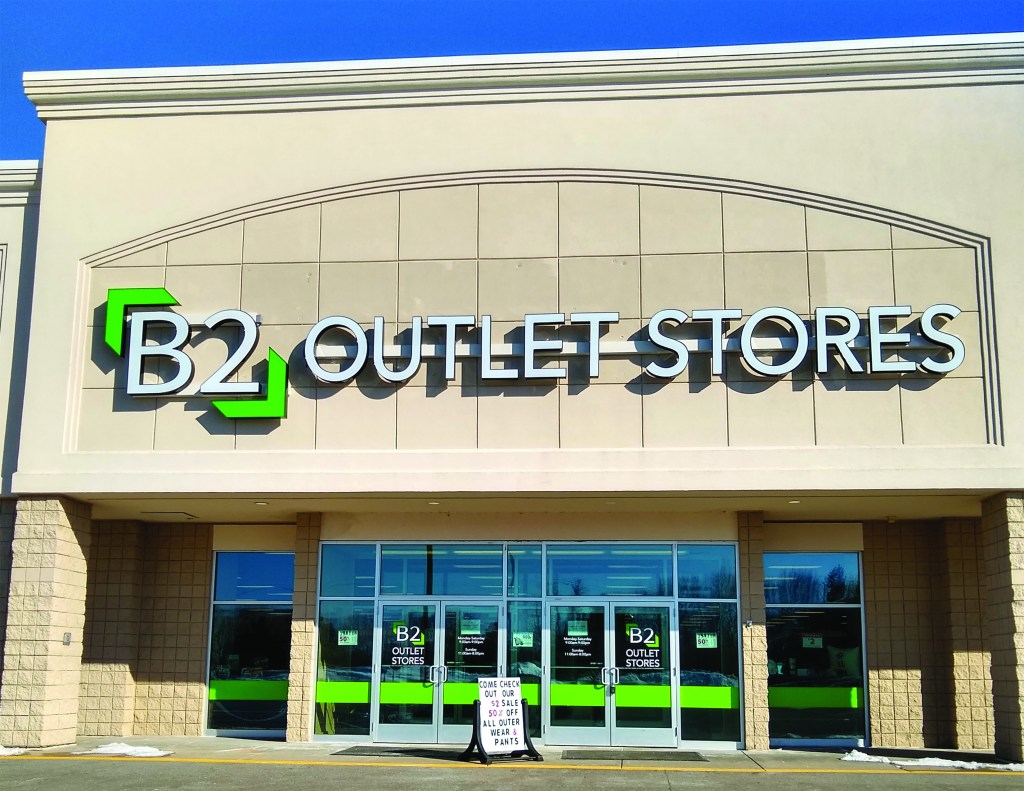 Big Rapids B2 Outlet Stores Front