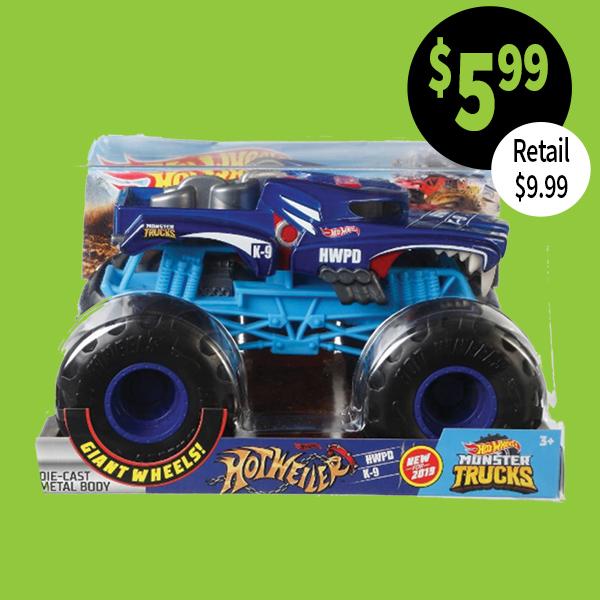 Hot Wheels large oversized monster truck