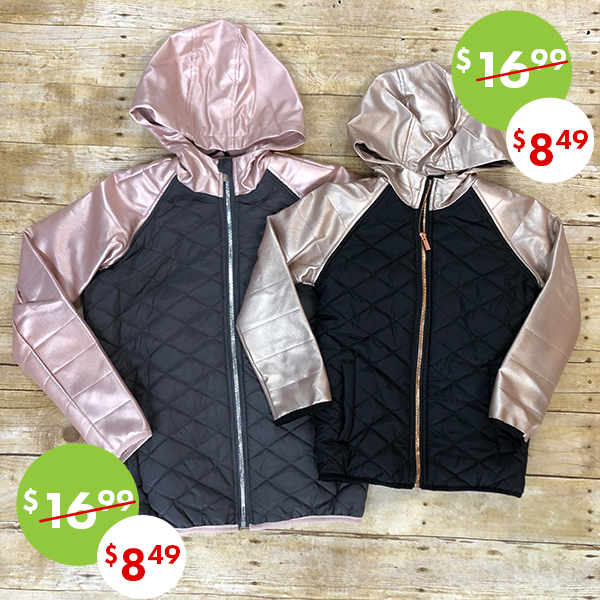 50% off, On sale girls winter coats and jackets