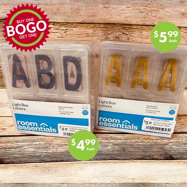 Light Box letters BOGO sale