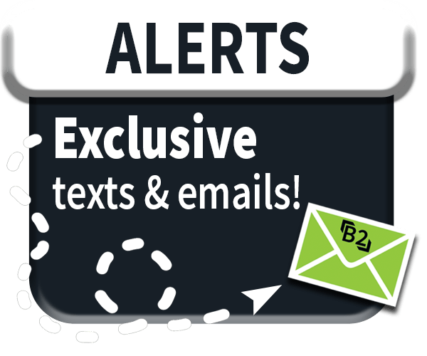 exclusive emails and texts for the rewards program