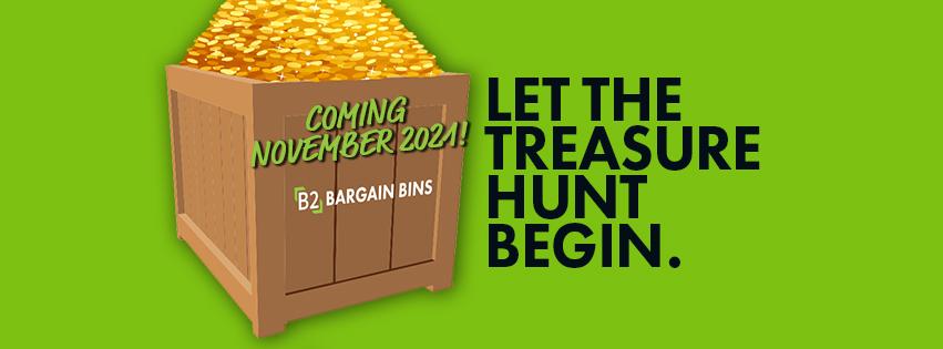 Discounts, Bin Store, Treasure Hunt Store, Store, Great Price