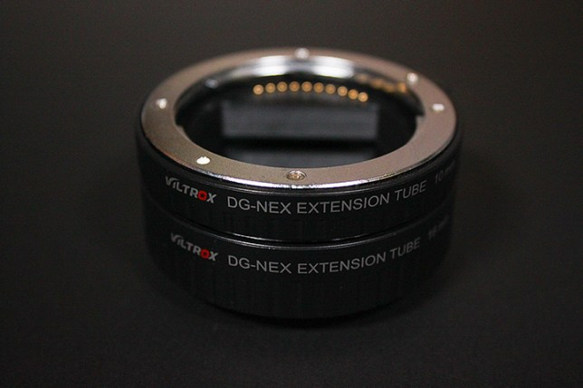 VILTROX DG-NEX AUTOMATIC EXTENSION TUBE for Sony E-mount Lens (10mm, 16mm)