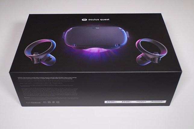 Oculus Quest-外箱