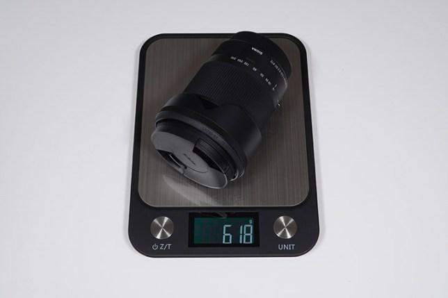SIGMA 18-300mm F3.5-6.3 DC MACRO-重さ