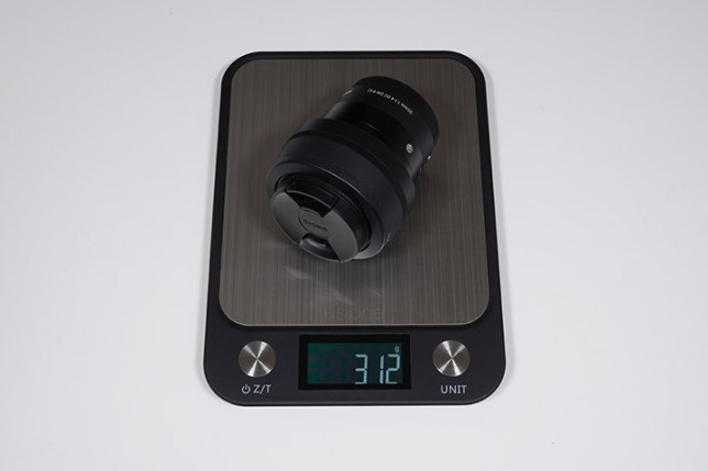 SIGMA 30mm F1.4 DC DN   Contemporary-重さ