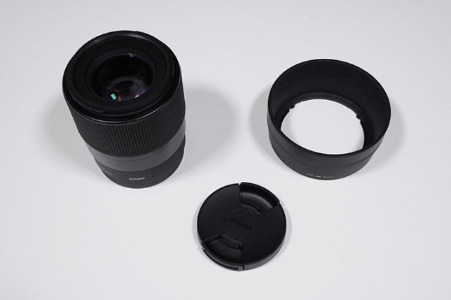 SIGMA 30mm F1.4 DC DN   Contemporary-レンズ・キャップ・フード