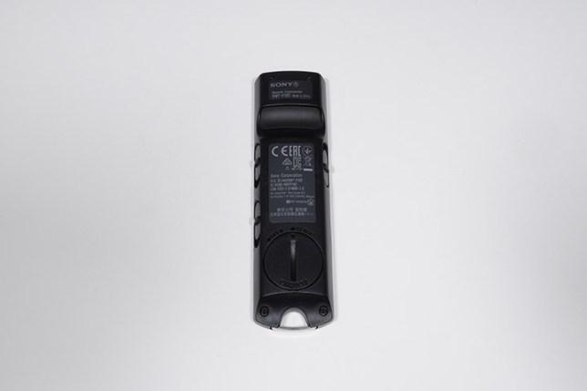 SONY ワイヤレスリモートコマンダー RMT-P1BT-裏面
