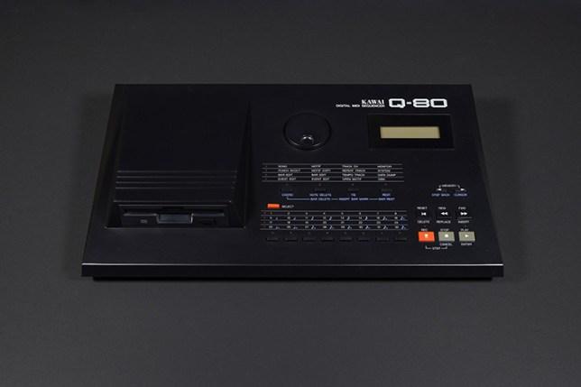 KAWAI デジタル MIDI シーケンサー Q-80-正面