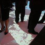 'It's Amazing' floor projections