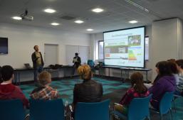 Luke talks about the work of Northfield Ecocentre