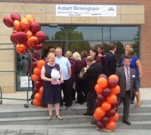 Preparing for the Autism Birmingham shop opening!