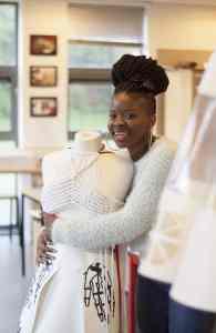 Creative Arts Show - Textiles Student Bongiwe