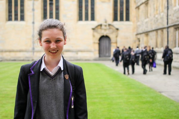 ARK Kings student Harriet at Wadham College, Oxford
