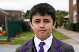 ARK Rose Primary pupil Connor speaking after taking his SATs