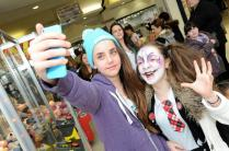 Spooky fun goes down a treat with youngsters at Northfield Shopping Centre